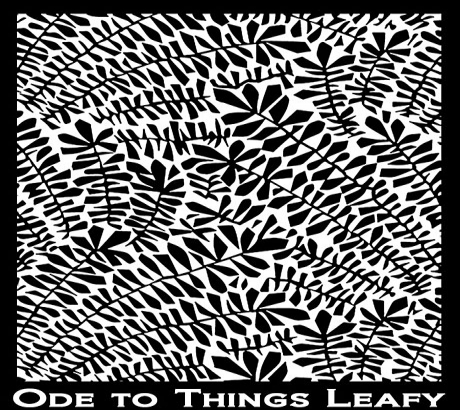 Silk Screen трафарет Ode to things Leafe