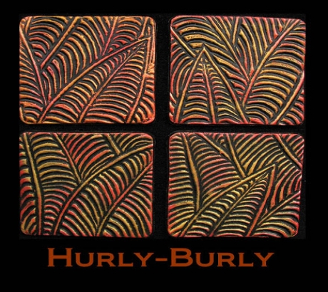 Helen Breil текстурный лист Hurly-Burly