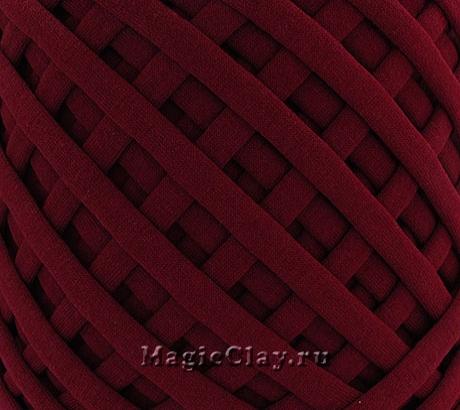 Трикотажная пряжа Biskvit, цвет Вино, 10 метров