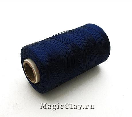 Нить Doli вискоза, цвет Синий 00706