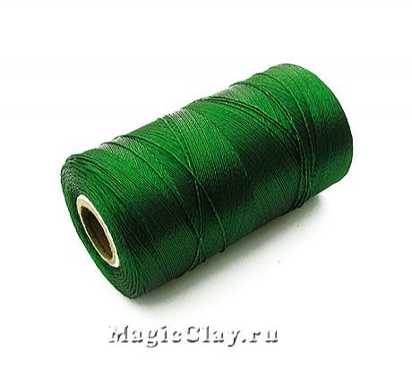 Нить Doli вискоза, цвет Зеленый Темный 03785