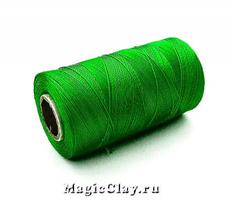 Нить Doli вискоза, цвет Зеленый Лесной 00163
