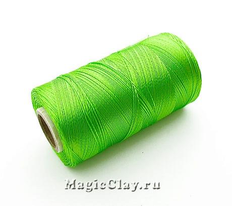 Нить Doli вискоза, цвет Зеленый Лайм 03807