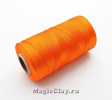 Нить Doli вискоза, цвет Оранжевый Светлый 03829