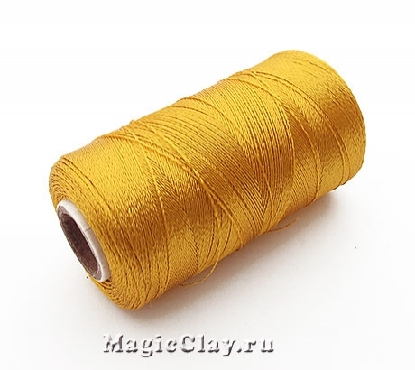 Нить Doli вискоза, цвет Золото 03839