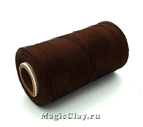 Нить Doli вискоза, цвет Коричневый Ореховый 03650