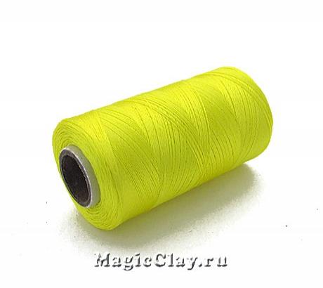 Нить Doli вискоза, цвет Желтый Лимонный 03700