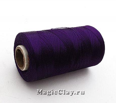 Нить Doli вискоза, цвет Фиолетовый Темный 00720