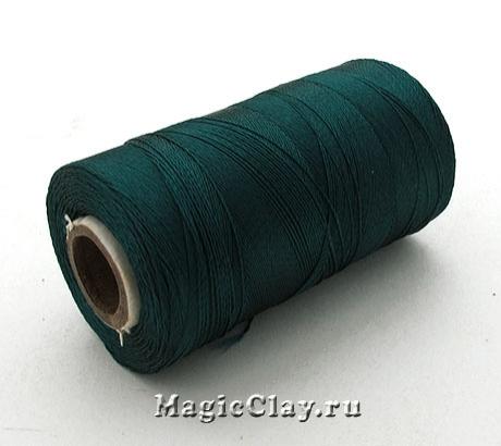 Нить Doli вискоза, цвет Морской Темный 03906