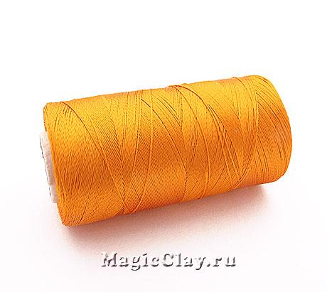 Нить Doli вискоза, цвет Желтый Насыщенный 00145