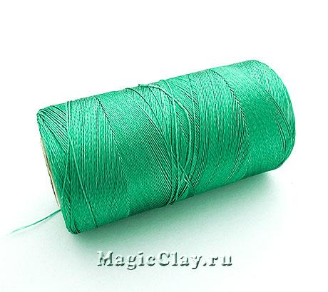 Нить Doli вискоза, цвет Зеленый Персидский 03637