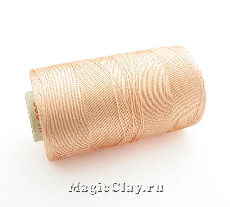 Нить Doli вискоза, цвет Персиковый Светлый 03851