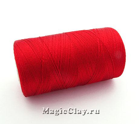 Нить Doli вискоза, цвет Красный Яркий 03880