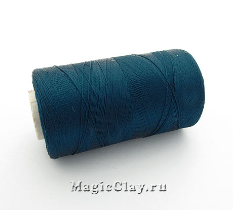 Нить Doli вискоза, цвет Синий Стальной 03901