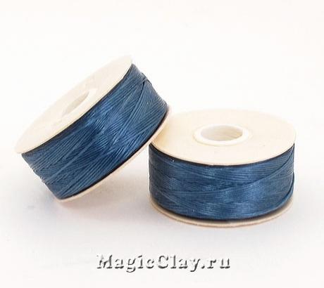 Нить NYMO для бисероплетения, размер D, цвет Синий Королевский