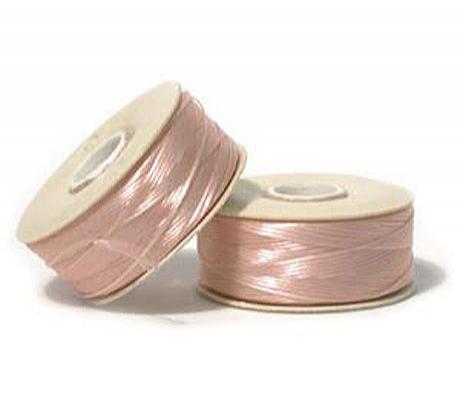 Нить NYMO для бисероплетения, размер D, цвет Розовый Светлый