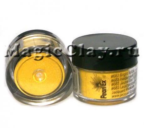 Пудра Pearl Ex 683 Ярко-желтый