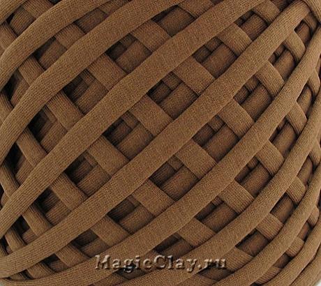 Трикотажная пряжа Biskvit, цвет Корица, 10 метров