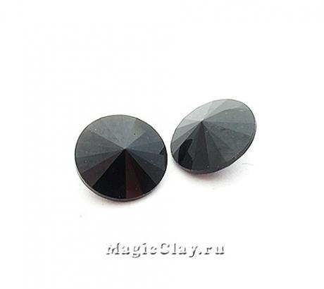 Риволи 12мм, цвет Черный