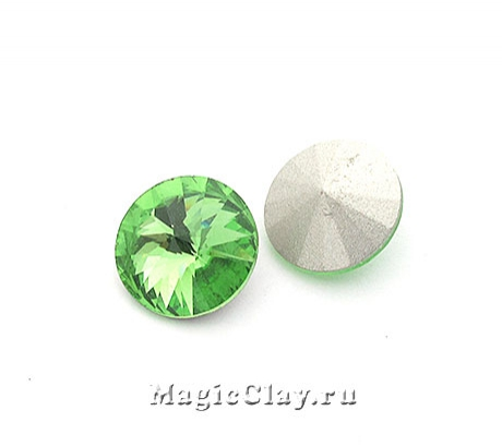 Риволи 14мм, цвет Зеленый