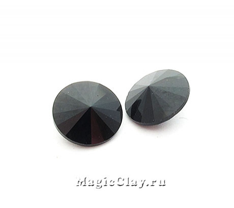 Риволи 14мм, цвет Черный