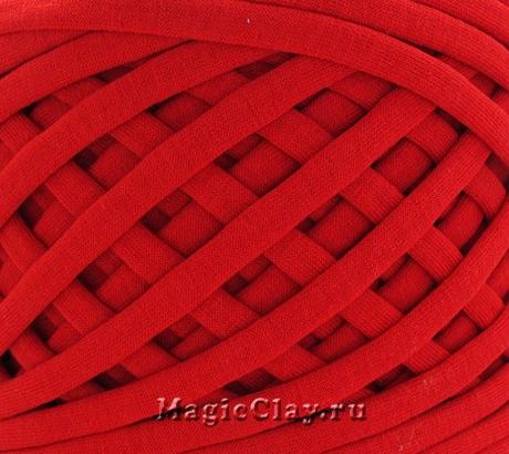 Трикотажная пряжа Biskvit, цвет Красный, 10 метров