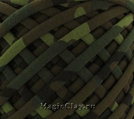 Трикотажная пряжа Biskvit, цвет Милитари, 10 метров