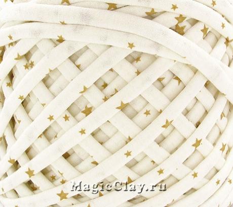 Трикотажная пряжа Biskvit, цвет Голд Стар, 10 метров