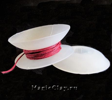 Катушки для сматывания  нитей Малые, 4 шт