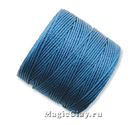 Нейлоновая нить Super-LON, Синий