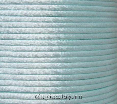 Шнур нейлоновый 2мм Голубой Светлый, 5 метров