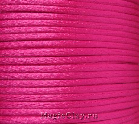 Шнур нейлоновый 2мм Розовый, 5 метров