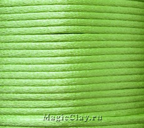 Шнур нейлоновый 2мм Салатовый, 5 метров