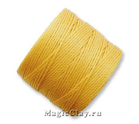 Нейлоновая нить Super-LON, Желтый Золотой