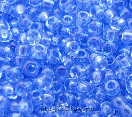 Бисер чешский 10/0 Кристалл, 01131 Light Sapphire, 41гр