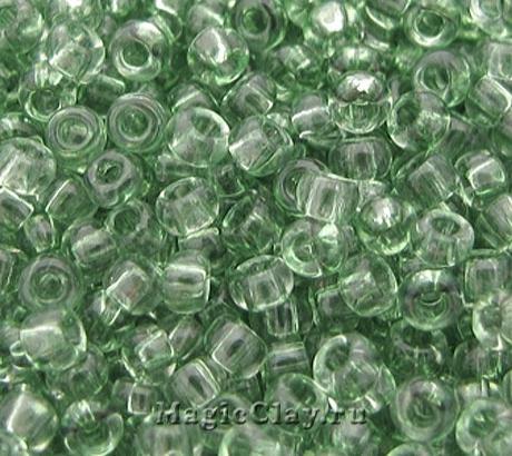 Бисер чешский 10/0 Кристалл, 01163 Olive Green, 41гр