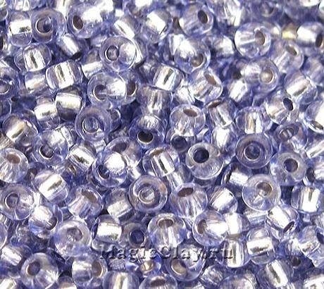 Бисер чешский 10/0 Кристалл, 78131 Light Sapphire, 41гр