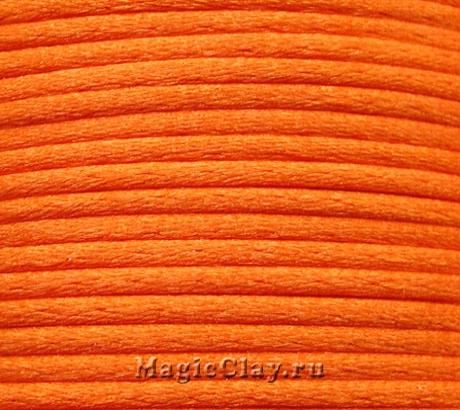 Шнур нейлоновый 2мм Оранжевый, 5 метров