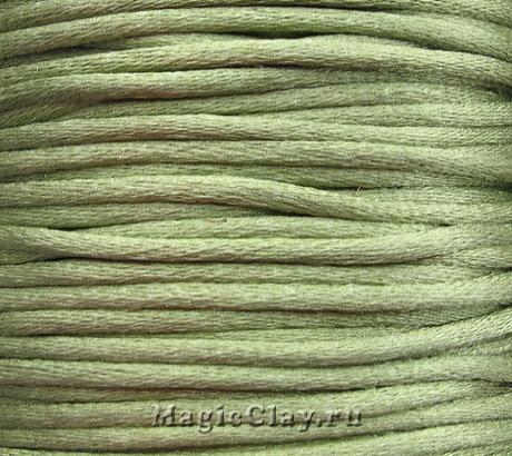 Шнур нейлоновый 2мм Оливковый, 5 метров