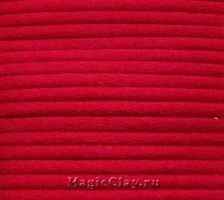 Шнур нейлоновый 2мм Красный, 5 метров