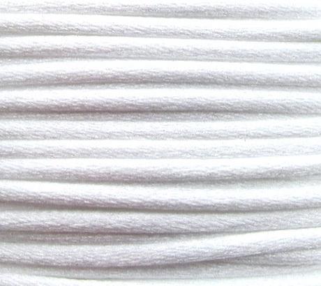 Шнур нейлоновый 2мм Белый, 5 метров
