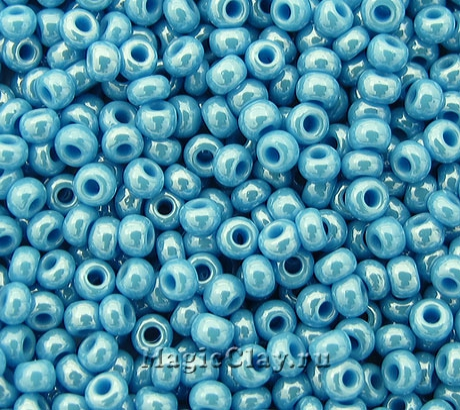 Бисер чешский 10/0 Непрозрачный, 68050 Turquoise, 41гр