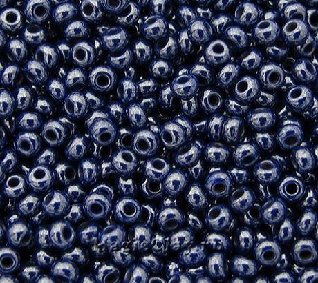 Бисер чешский 10/0 Непрозрачный, 33061 Dark Blue, 41гр