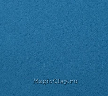 Фетр для рукоделия Rayher 20*30 см, цвет Синий Умеренный