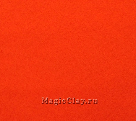 Фетр для рукоделия Rayher 20*30 см, цвет Оранжевый