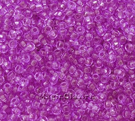 Бисер чешский 10/0 Кристалл, 01123 Tanzanite, 41гр