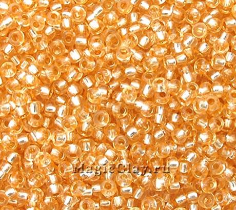 Бисер чешский 10/0 Кристалл, 78184 Orange, 50гр