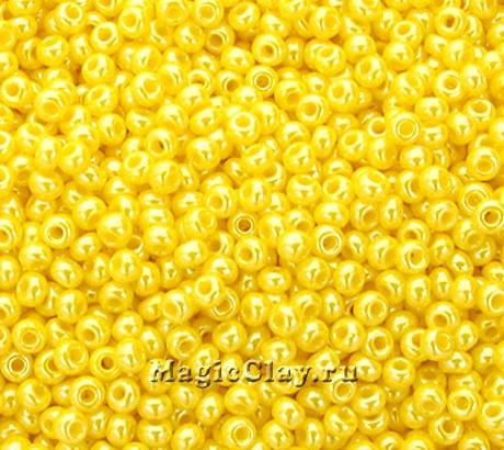 Бисер чешский 10/0 Непрозрачный, 88130 Gold Yellow, 50гр
