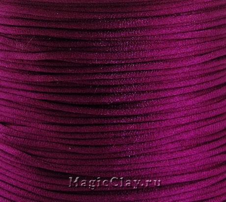 Шнур нейлоновый 1мм Бордовый, 5 метров