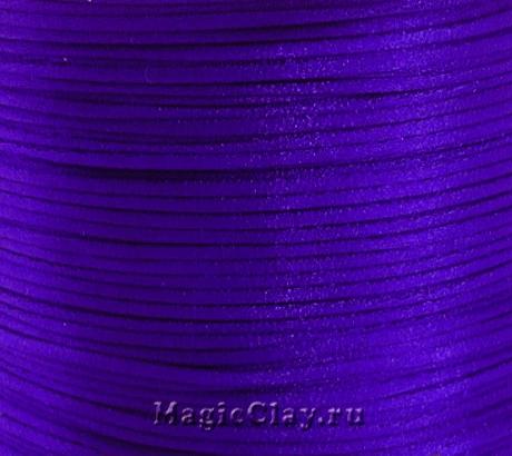 Шнур нейлоновый 1мм Синий Глубокий, 5 метров